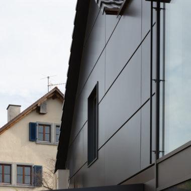Grossmann Metallbau Alu Fenster und Türen Fassade