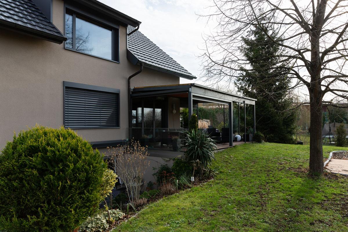 Grossmann Metallbau Alu Fenster und Türen Wintergarten